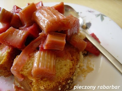Pieczony rabarbar: na deser i śniadanie