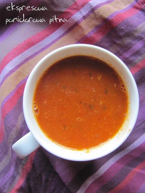 Ekspresowa pitna pomidorowa