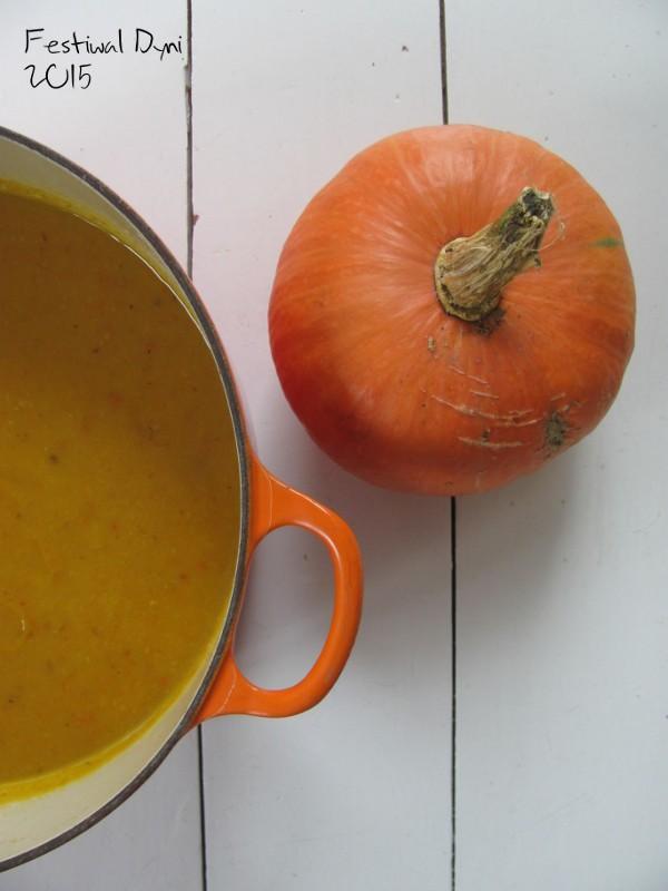 Hummus dyniowy i powtórka z zupy – na Festiwal Dyni