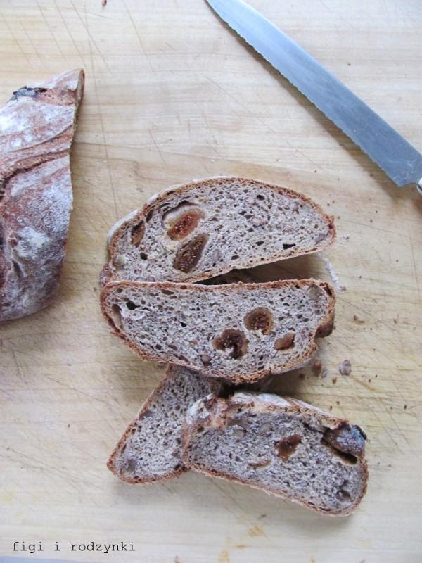 Chleb z figami i orzechami