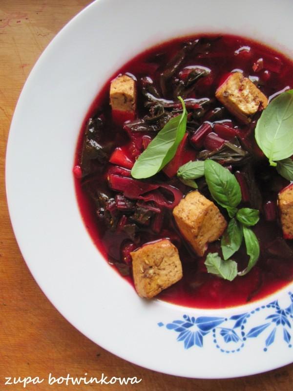 Azjatycka zupa botwinkowa