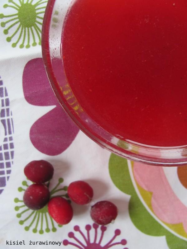 Dla chorych i zdrowych: kisiel żurawinowy