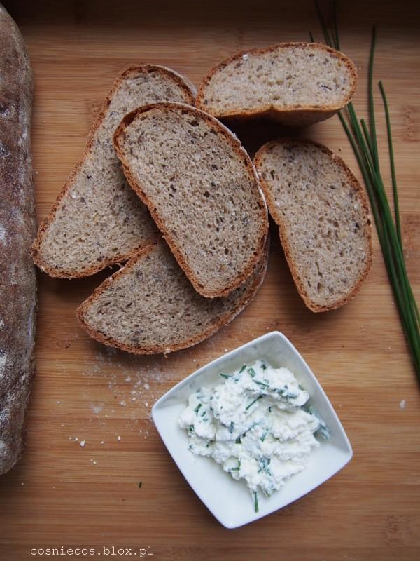Chleb wieloziarnisty z zaparką