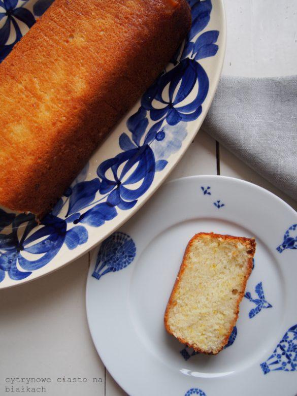 Babeczki migdałowe i/lub ciasto cytrynowe na białkach