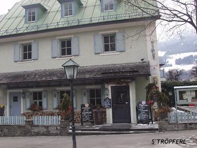 Trzy restauracje w Bad Hofgastein