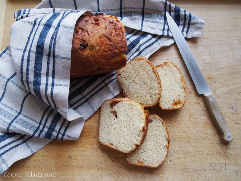 Ukraiński chlebek bakaliowy (Паска Південна)