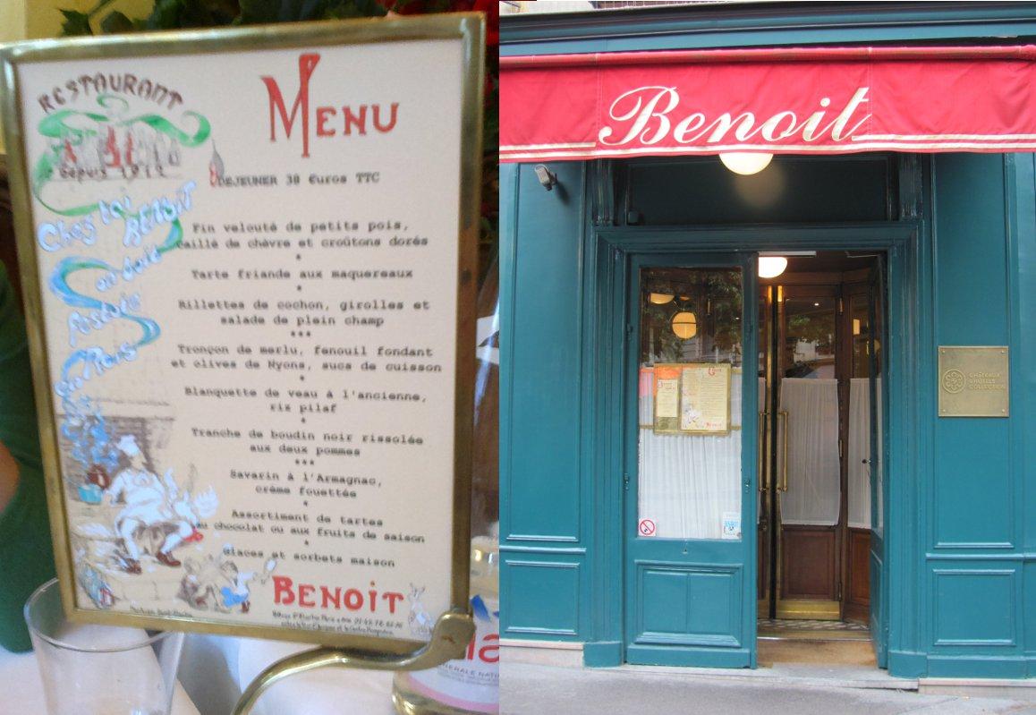 Dwie paryskie restauracje