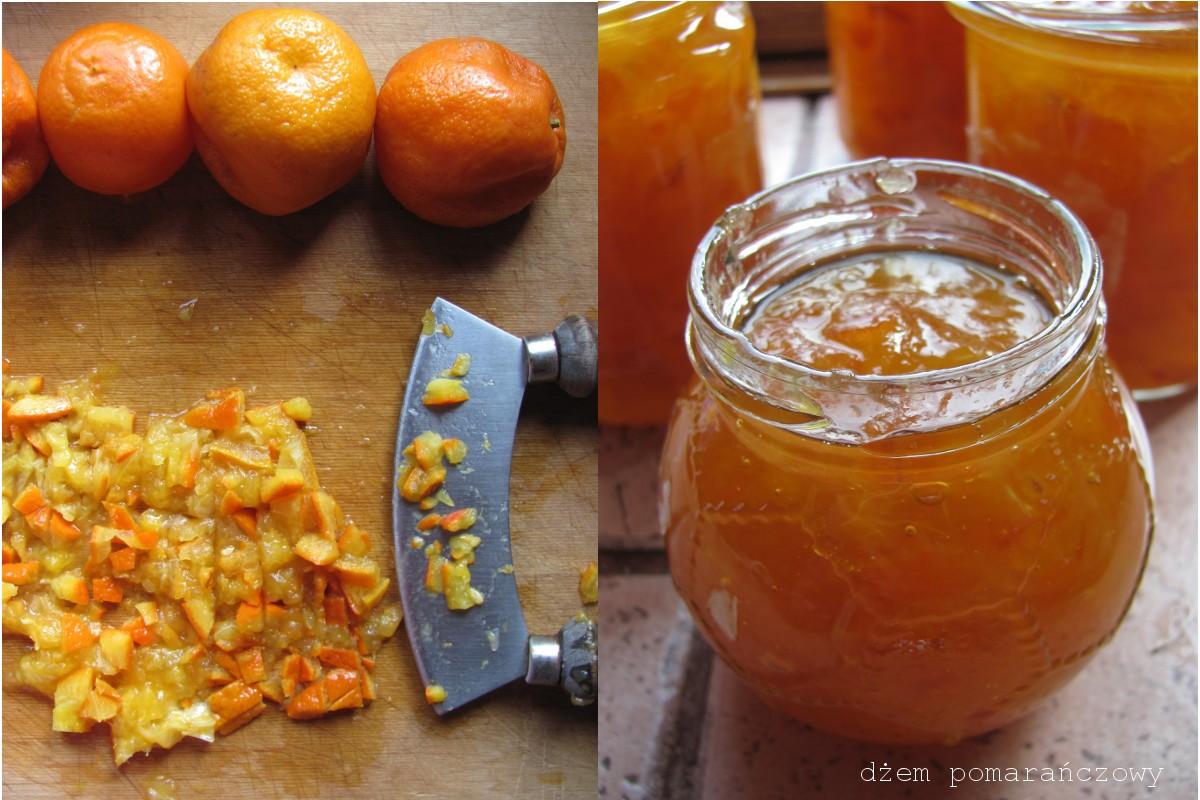Dżem z gorzkich pomarańczy