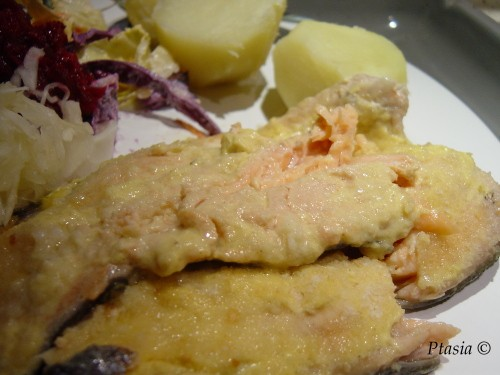 Szybka ryba limonkowo-musztardowa