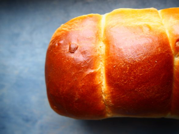 Japoński chleb mleczny (chlebek Hokkaido)