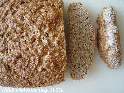 Weekendowa Piekarnia #72: Chleb wieloziarnisty 100%