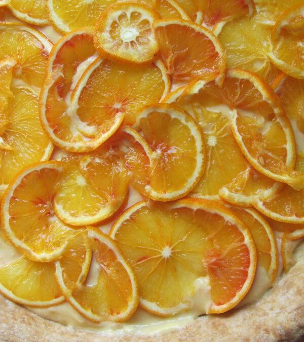 Krem (curd) pomarańczowy plus tarta