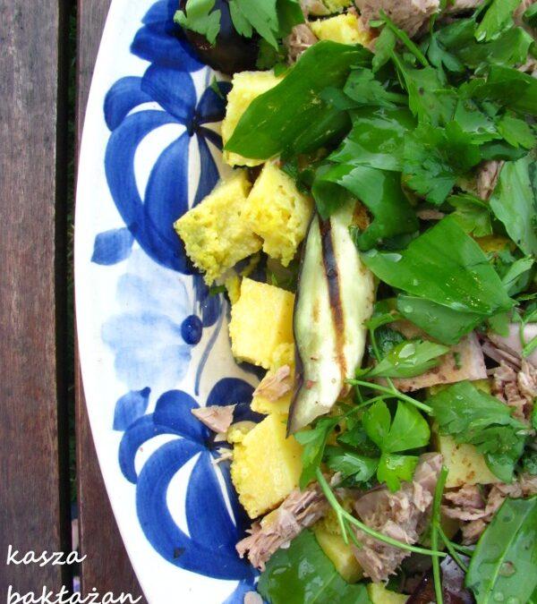 Dekonstrukcja kulinarna (wiosenna sałatka i makaron)