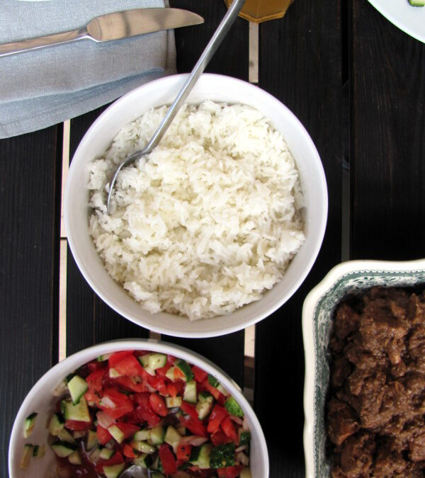 Ryż perski (kafteh)