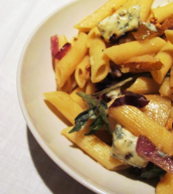 Gruszka i ser pleśniowy