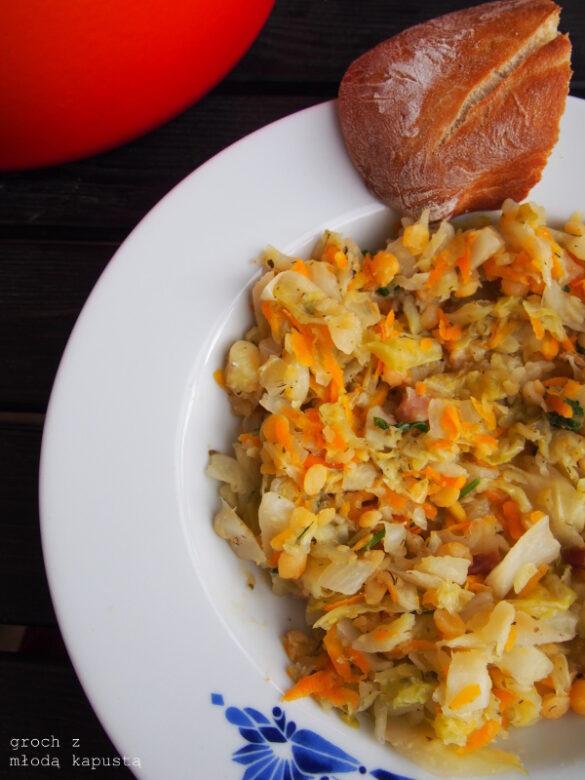 Zielono mi 2018: kapusta z grochem i jajeczna pasta szparagowa
