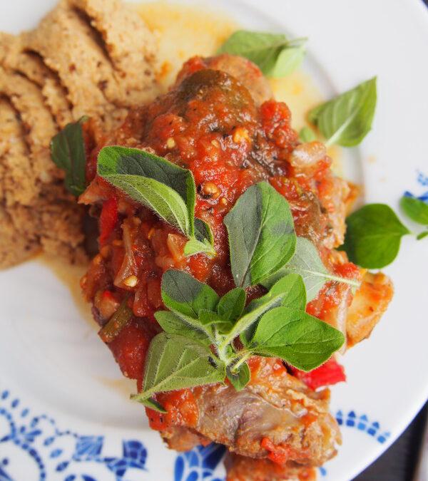 Pikantne giczki pomidorowe
