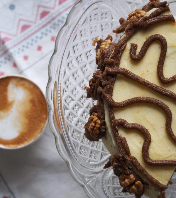 Tort cytrynowo-orzechowy, albo koniec poszukiwań