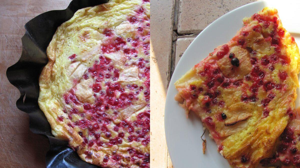Pieczony omlet