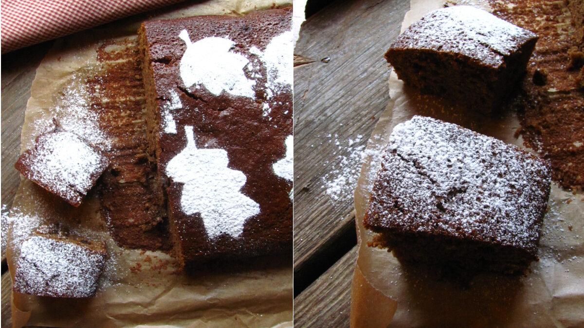 Lepkie ciasto piernikowe
