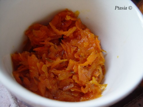 Marchewkowy relish z kuminem/Carrot relish with cumin