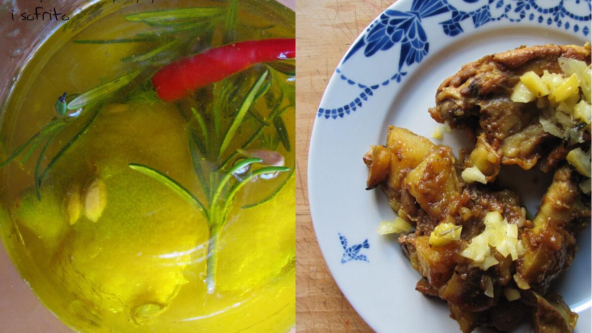 Sofrito z kurczaka i marynowane cytryny (po raz drugi)