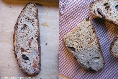 Weekendowa Piekarnia #130: chleb na zakwasie z suszonymi owocami