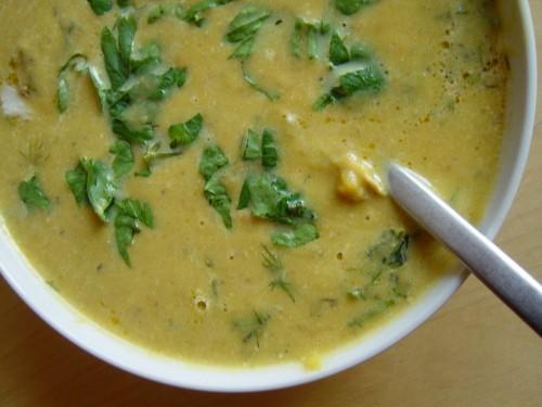 Zupa marchwiowo-dyniowa z kuminem