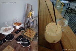 Śniadanie greckie i frappe