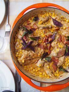 Kurczak z kukurydzą