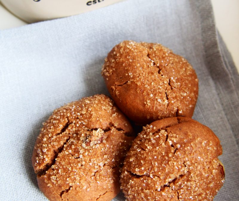 Ciasteczka z kremem orzechowym