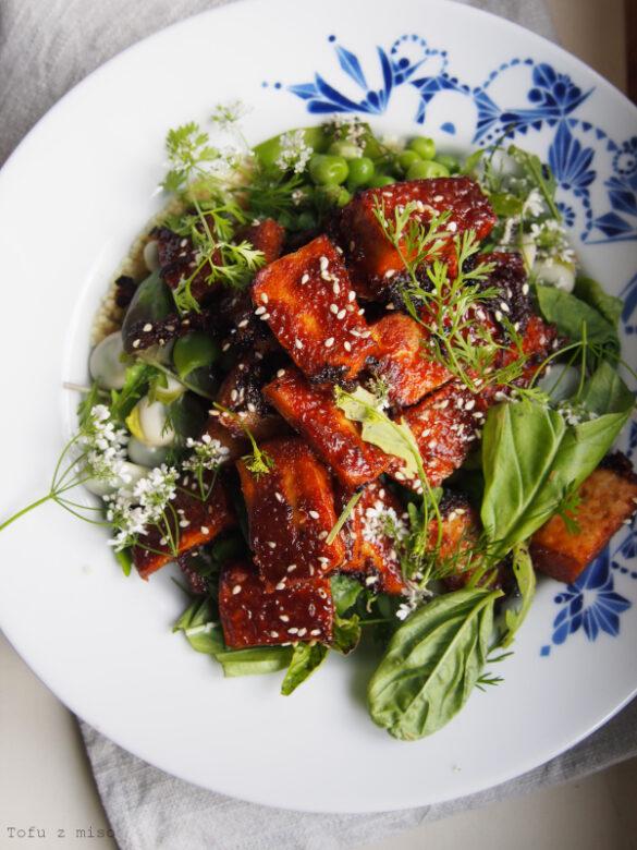 Tofu z miso